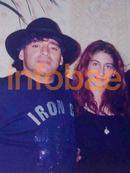 Laura empezó a salir con Diego en el ´98