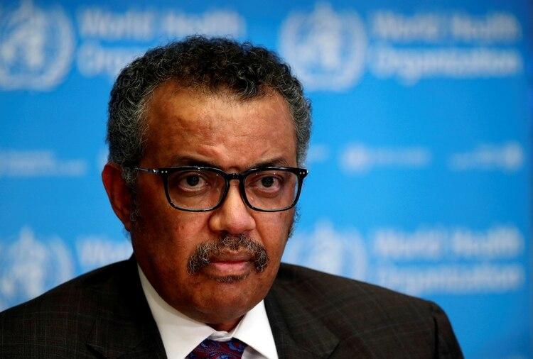 El director general de la OMS, Tedros Adhanom Ghebreyesus REUTERS/Denis Balibouse/File Photo
