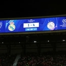 Soccer Football - Champions League - Round of 16 Second Leg - Real Madrid v Ajax Amsterdam - Santiago Bernabeu, Madrid, Spain - March 5, 2019 General view of the scoreboard during the match REUTERS/Sergio Perez