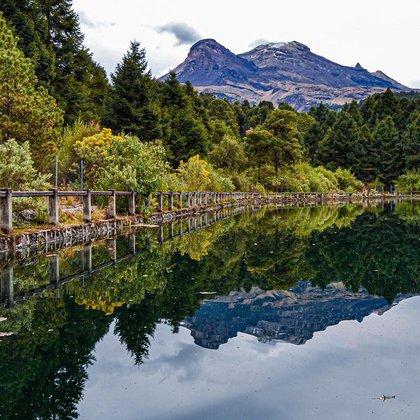 Paisaje de la Laguna de Nahualac (Foto: Instagram)