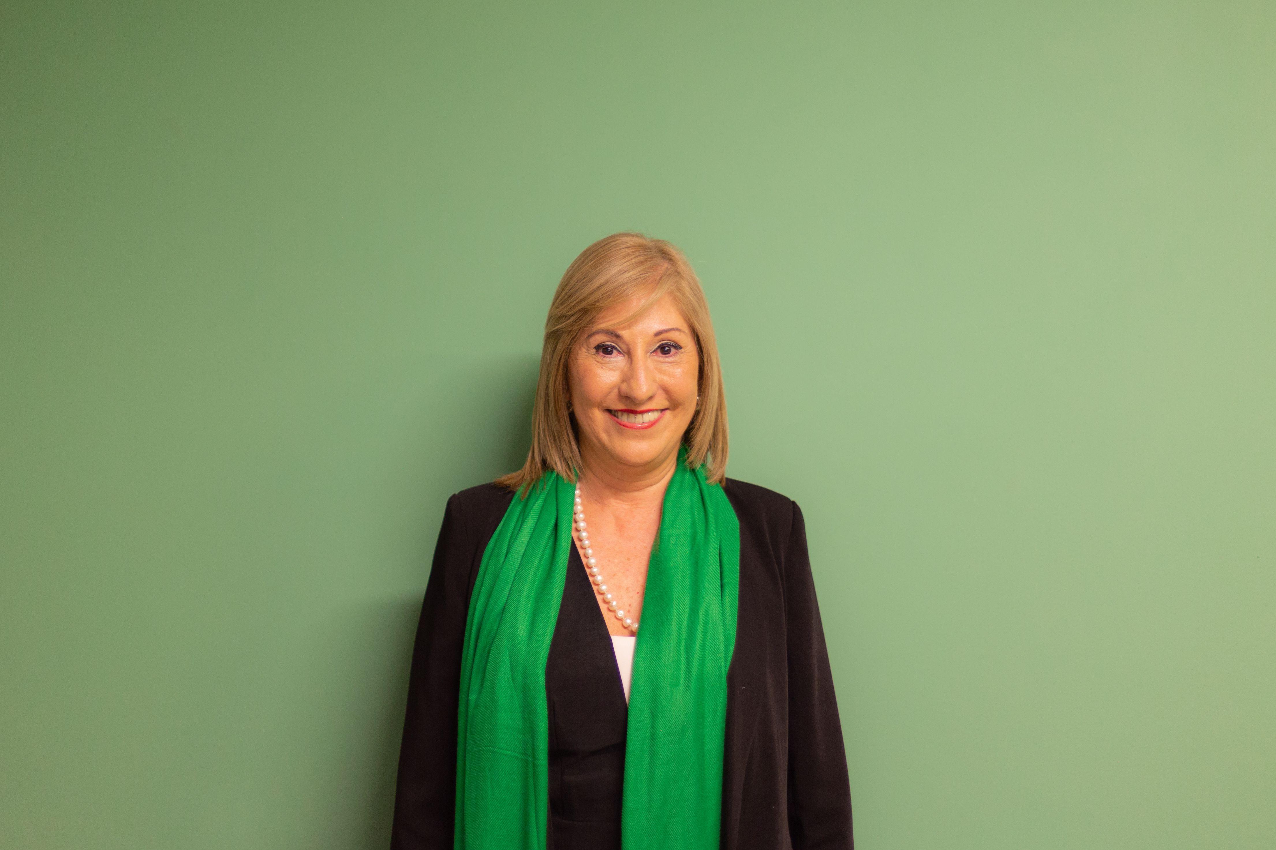 Maria del Carmen Suárez es candidata en las elecciones el 19 de junio