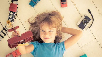 Los niños aprenden jugando y es una manera de crecer