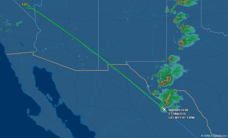 Según datos de FlightAware, la aeronave había aterrizado con normalidad en Monterrey; sin embargo, autoridades del estado de Coahuila ya han confirmado la desaparición (Foto: Especial)