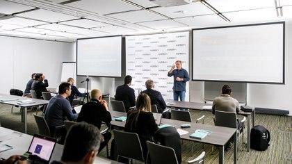 Conferencia de prensa de Kaspersky Labs en Moscú, Rusia