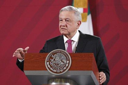 El presidente Andrés Manuel López Obrador ha dicho que sigue en pie la celebración del grito de independencia en el Zocalo capitalino. (Foto: José Méndez/EFE)