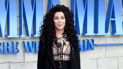 """Cher en el estreno de """"Mamma Mia"""""""