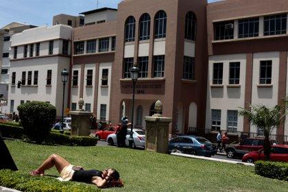 El Hospital San Juan de Dios Hospital, en San José (REUTERS/Juan Carlos Ulate)