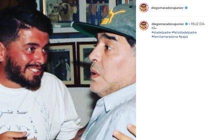 El mensaje de Diego Maradona Jr