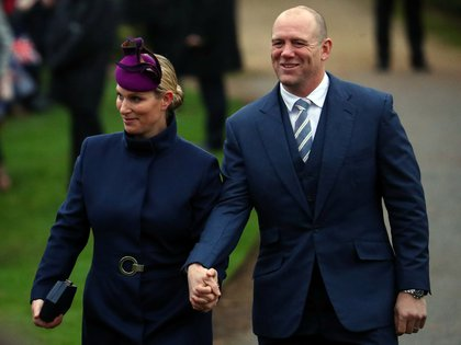 Zara Phillips, hija de la princesa Ana de Inglaterra, y Mike Tindall  ya son padres de dos hijas (Reuters)