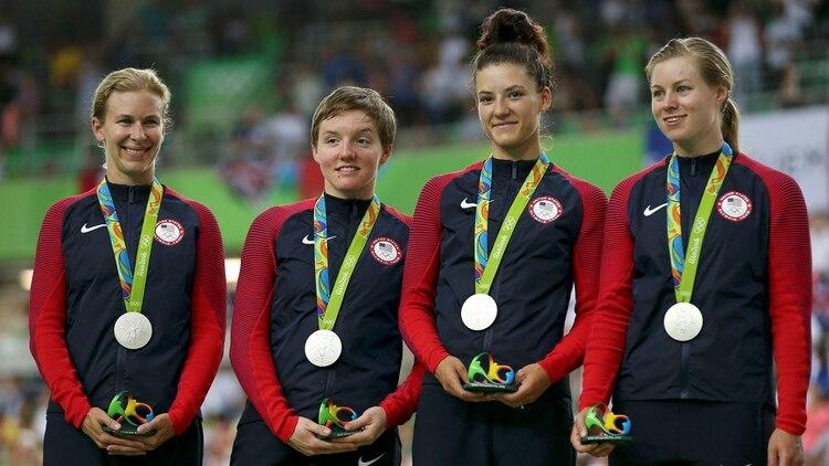 Kelly Catlin había alcanzado la medalla de plata en Río 2016con el equipo  estadounidense (Reuters 24f6e8486b0a6