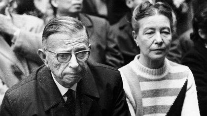 Con Sartre (Getty Images)