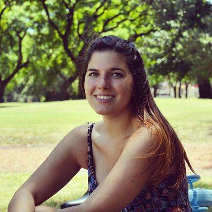 Retrato de Agus por Rocío Ferreira