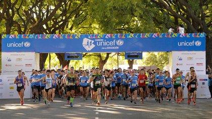 El domingo 17 se realizaráuna nueva edición de la Carrera UNICEF por la Educación