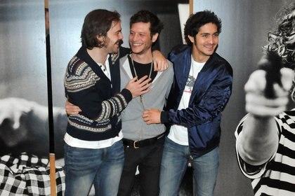 """Luis, con Peter Lanzani y el """"Chino"""" Darín, dos piezas fundamentales del filme"""