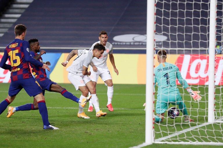 VOMBCMQYPDWIEKLUPQDTHI4MPU - Histórica derrota del Barcelona frente al Bayer Munich