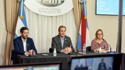 El gobernador de Entre Ríos, Gustavo Bordet (@bordet)