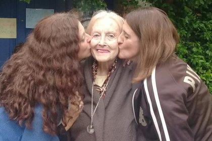 Martha Pedrotti, la madre de Fernanda Mariotti, falleció el 19 de julio. Su familia no pudo verla desde que se internó
