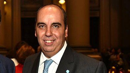 El juez Marcelo Martínez De Giorgi (Nicolás Stulberg)