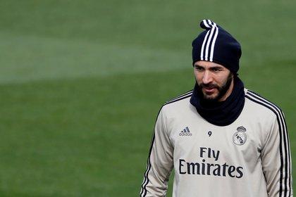 El jugado francés del Real Madrid Karim Benzema. EFE/JAVIER LIZÓN/Archivo