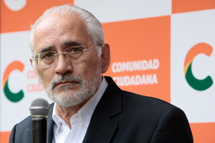 Carlos Mesa. REUTERS/Manuel Claure