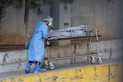 El personal médico, administrativo y de limpieza acumula en su espalda largos turnos y bajos salarios (Foto: Francisco Guasco/ EFE)