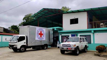 La Cruz Roja llevó ayuda médica a Apure, el municipio venezolano afectado por los combates entre el Ejército y las FARC