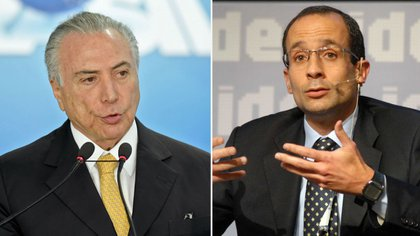 Michel Temer y Marcelo Odebrecht