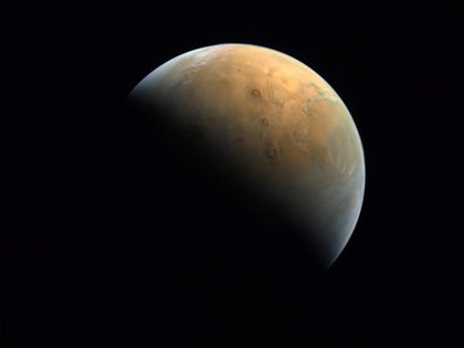A space view of the planet Mars