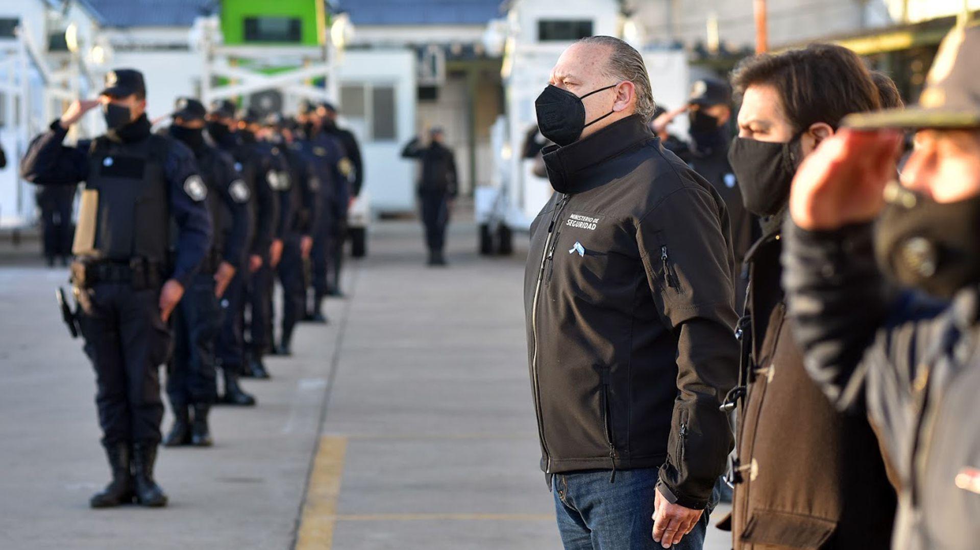 Berni encabezó el acto por el Día de la Independencia en La Matanza