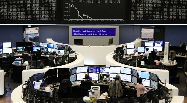 El índice DAX alemán es uno de los más afectados del inicio del jueves