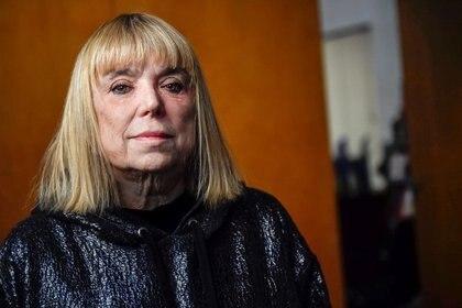 La directora del Museo del Libro y de la Lengua, la escritora y periodista, María Moreno, (Alejandro Santa Cruz/Télam)