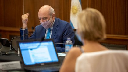 Jesús Rodríguez presidió esta semana la sesión de la AGN