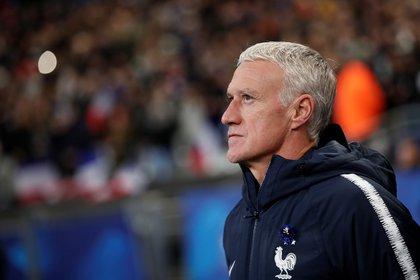 Didier Deschamps, director técnico de la selección de Francia (REUTERS/Benoit Tessier)