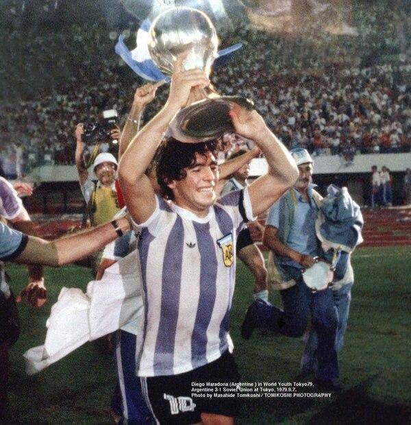 La euforia del capitán argentino en los festejos por el campeonato