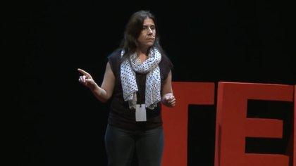 Beatriz Busaniche, presidenta de la fundación Vía Libre