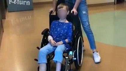 Cody el niño milagro volvi{o a caminar (Foto: Captura de pantalla)