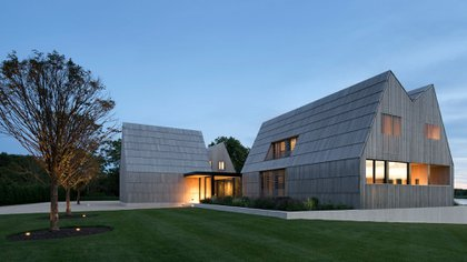 La Georgica Cove se afinca en East Hampton, Nueva York, y fue diseñada por Bates Masi + Architects