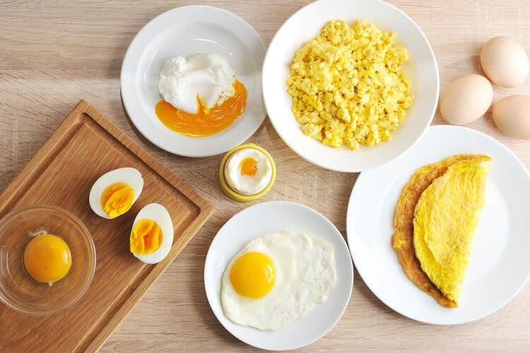 La proteína del huevo se considera la de más alto valor biológico o completa porque contiene los 9 aminoácidos esenciales para el organismo (Shutterstock)