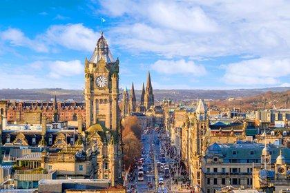 En la capital escocesa, los precios han caído un 19% desde marzo