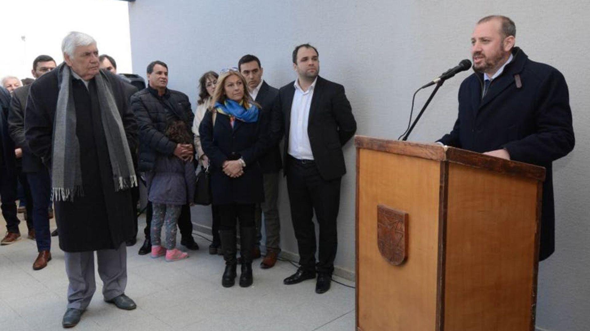 Intendente Luis Piedrabuena Federico Bodlovic