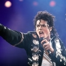 Mandatory Credit: Photo by Shutterstock (148250a) MICHAEL JACKSON MICHAEL JACKSON PERFORMING AT WEMBLEY STADIUM, LONDON, BRITAIN - 1988