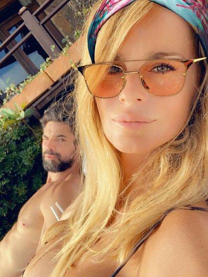 Sabrina y Luciano viajaron solos a Brasil (Instagram)