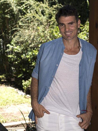 Nicolás Cuño junto a su socio Martín Lief comenzaron vendiendo trajes de baño con apenas 16 años, hoy Key Biscayne marca tendencia en el moda masculina (Adrián Escandar)