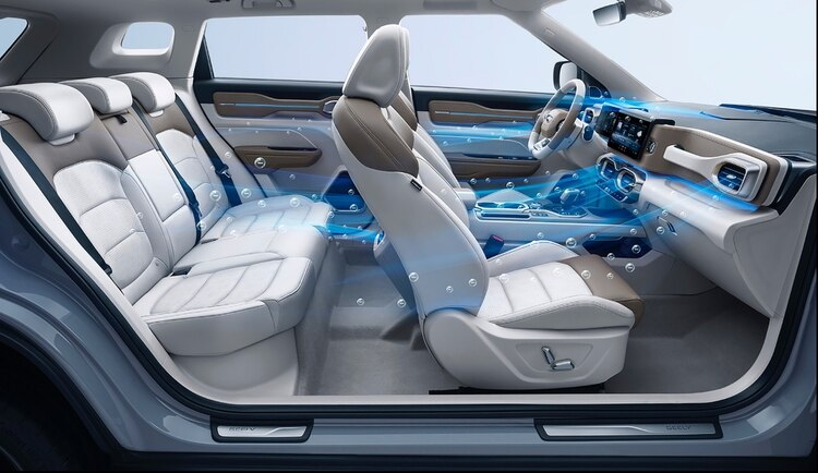 Este SUV de lujo, 100 % tecnológico, tiene un interior diseñado en Barcelona.
