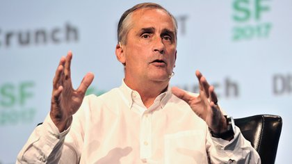 El CEO de Intel, Brian Krzanich. (Steve Jennings/Getty Images for TechCrunch)