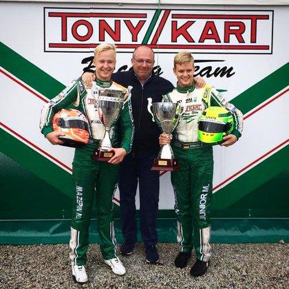 Nikita Mazepin y Mick Schumacher se conocen desde que competían en karting.