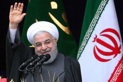 El presidente iraní, Hasan Rohani. EFE/ Abedin Taherkenareh/Archivo