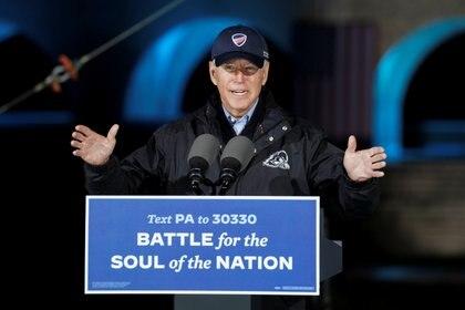 Evento de Joe Biden en Filadelfia (Reuters)