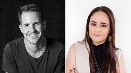 Dan Jones y Marina Amaral (Cortesía Editorial Head of Zeus/Peter Clark)