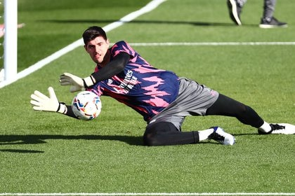 Thibaut Courtois, arquero del Real Madrid (REUTERS/Sergio Perez)